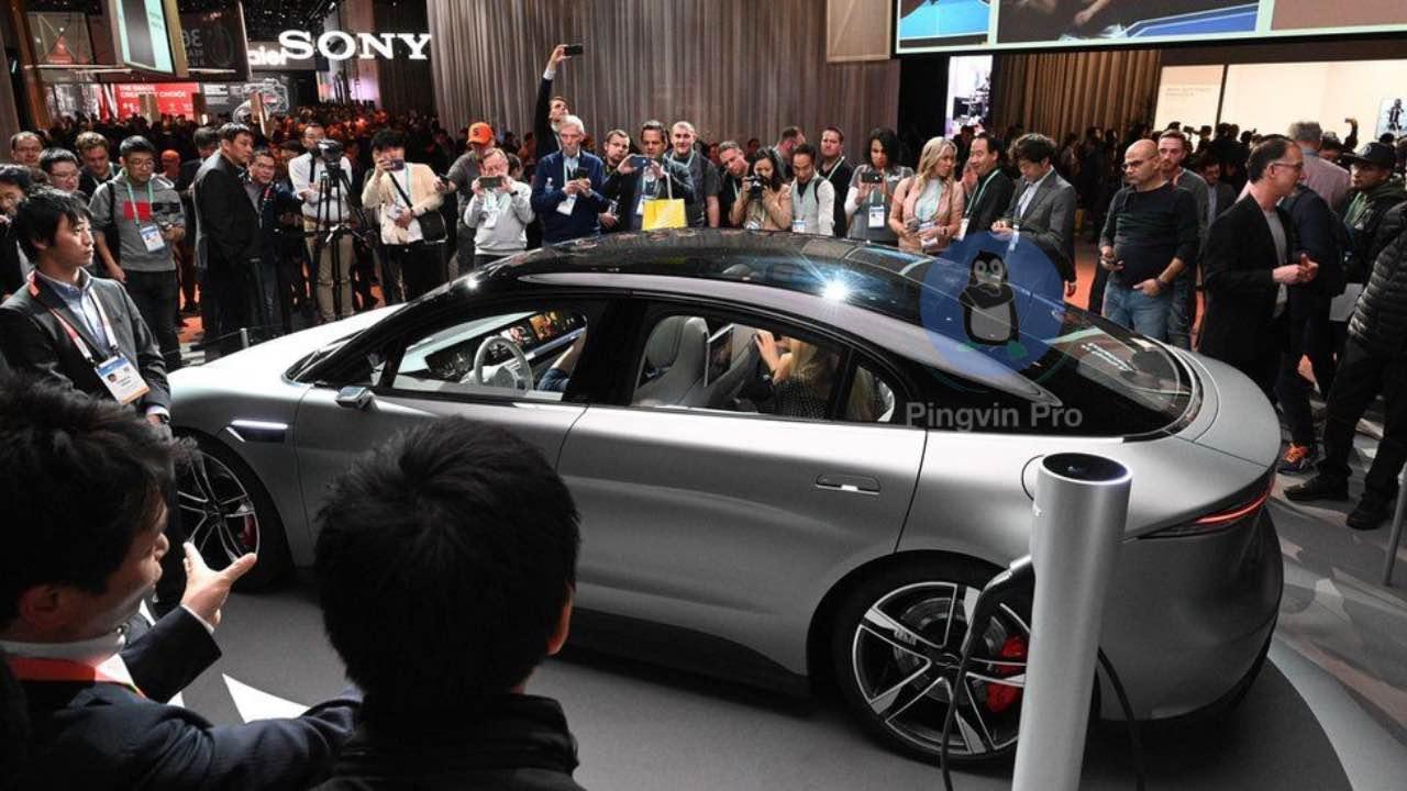 Електромобіль Sony Vision S