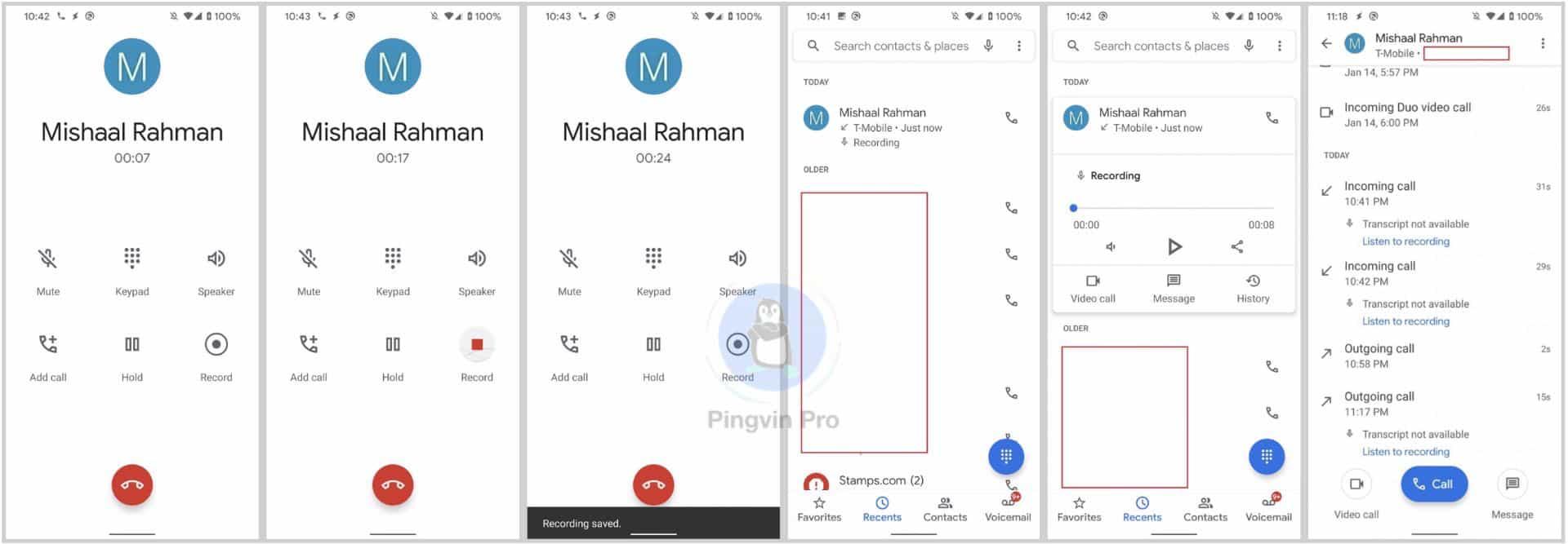 Запис дзвінків в Google Phone буде доступний не всім