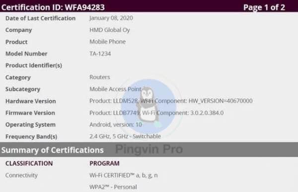 Nokia 8.2 з 5G