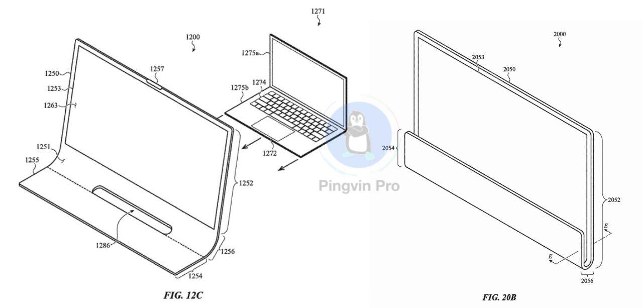 Apple запатентувала вигнутий iMac