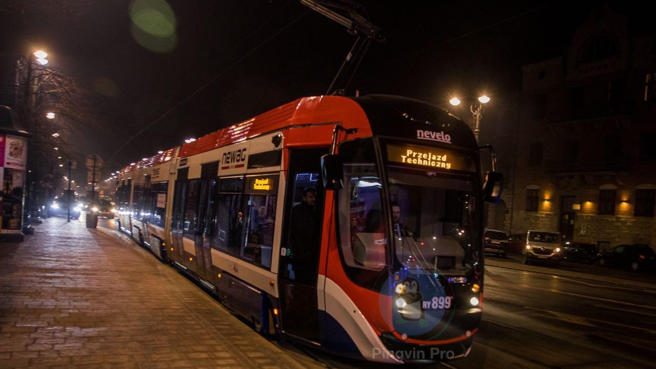 У Польщі тестували самокерований трамвай