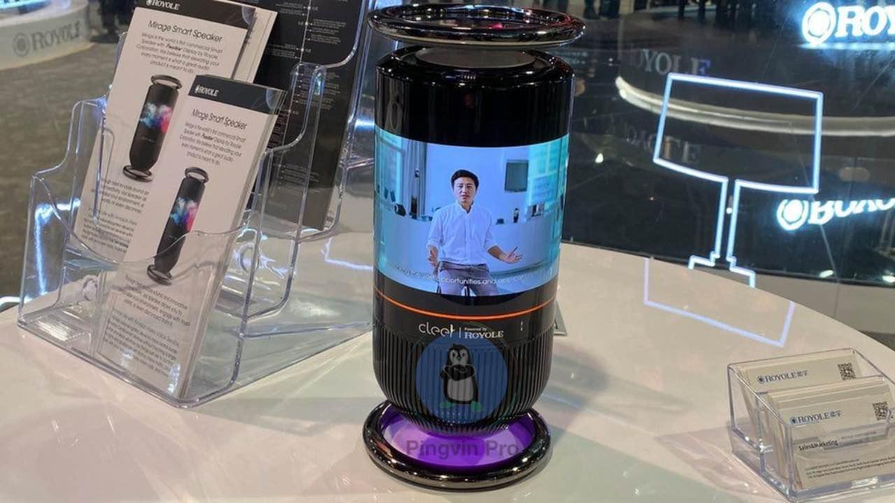 Royole Mirage Smart Speaker на CES 2020