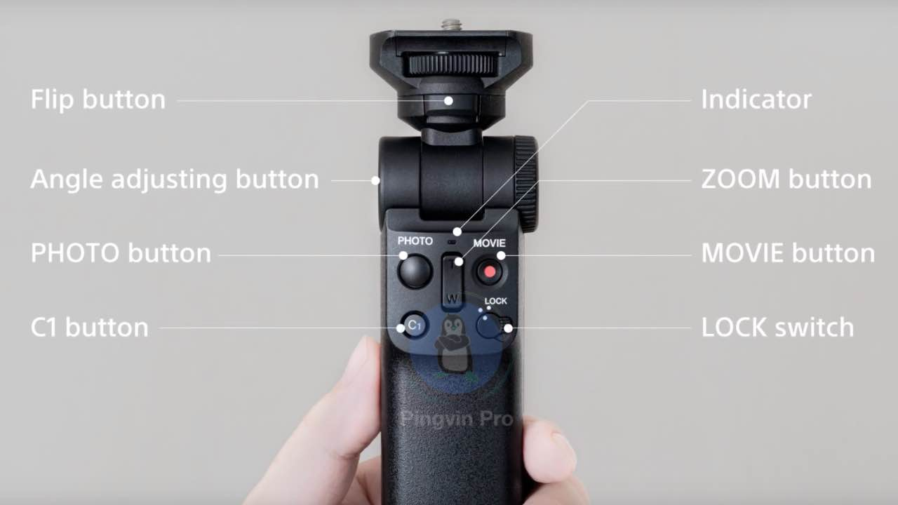 Бездротовий тримач Sony GP-VPT2BT