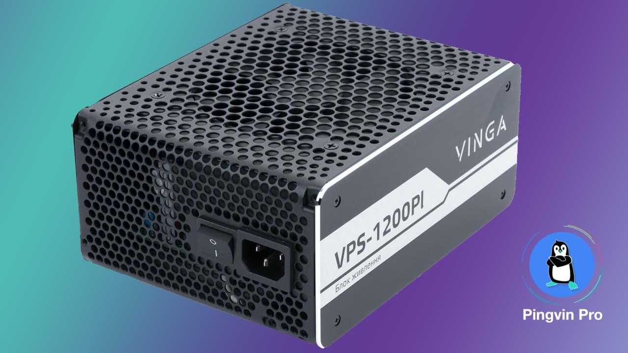 Блок живлення Vinga 1200W VPS-1200Pl