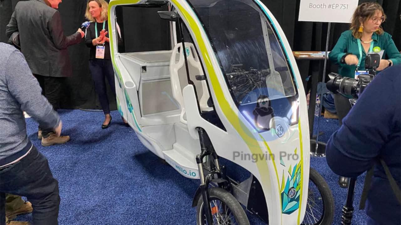 Триколісний велосипед Wello, який живиться від сонця