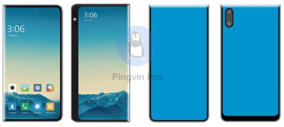 Xiaomi запатентувала нові дизайни смартфонів