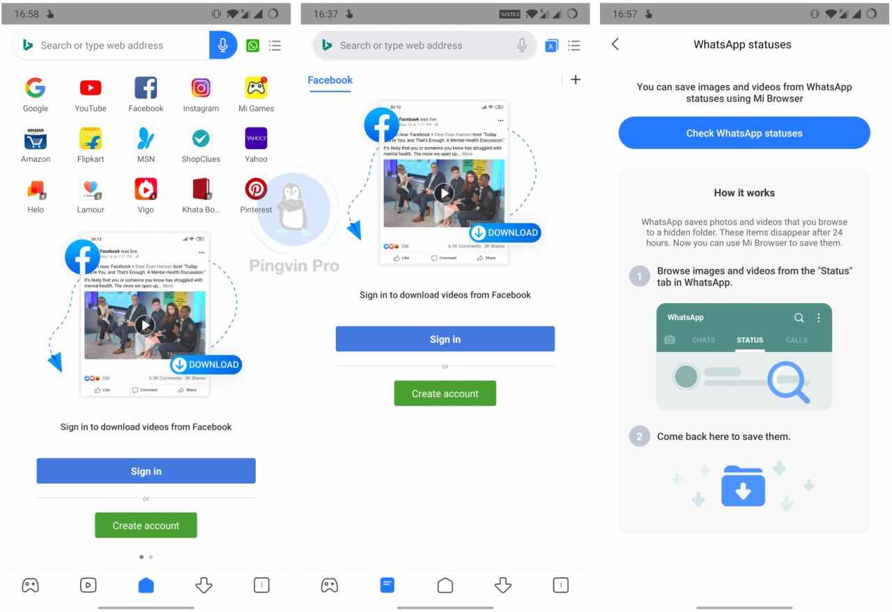 Xiaomi змінила дизайн та функціональність Mi Browser