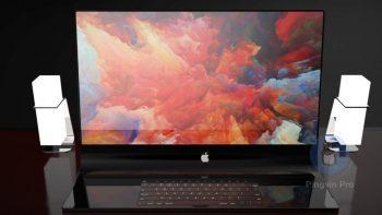 Скляний Apple iMac Pro 3D