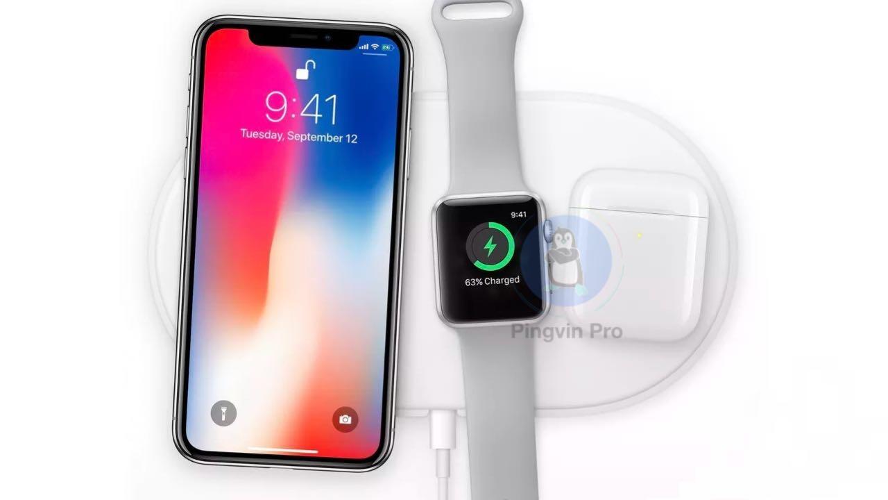 Apple ще може випустити бездротову зарядку AirPower