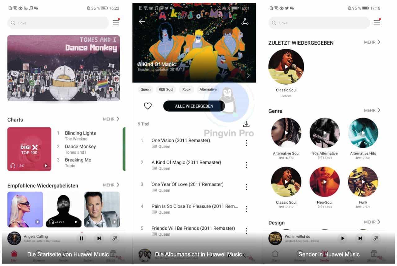 Huawei Music: компанія запустила власний музичний сервіс