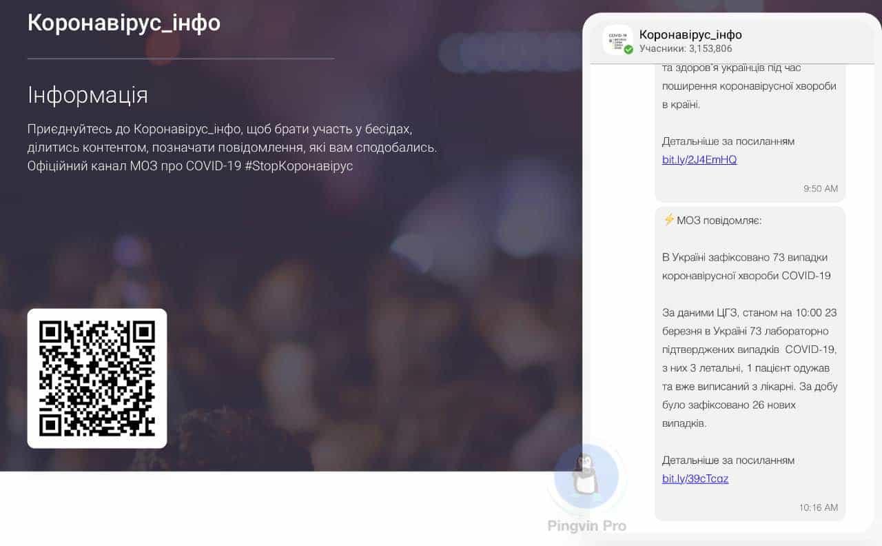Хакери зламали у Viber офіційний канал МОЗ про коронавірус