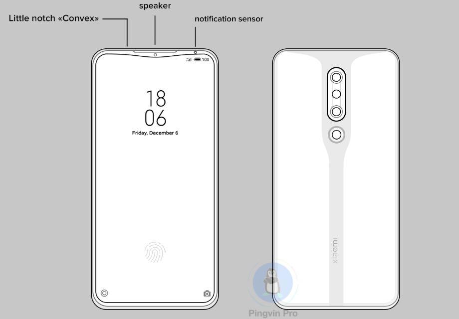 Xiaomi придумала альтернативний виріз для смартфона