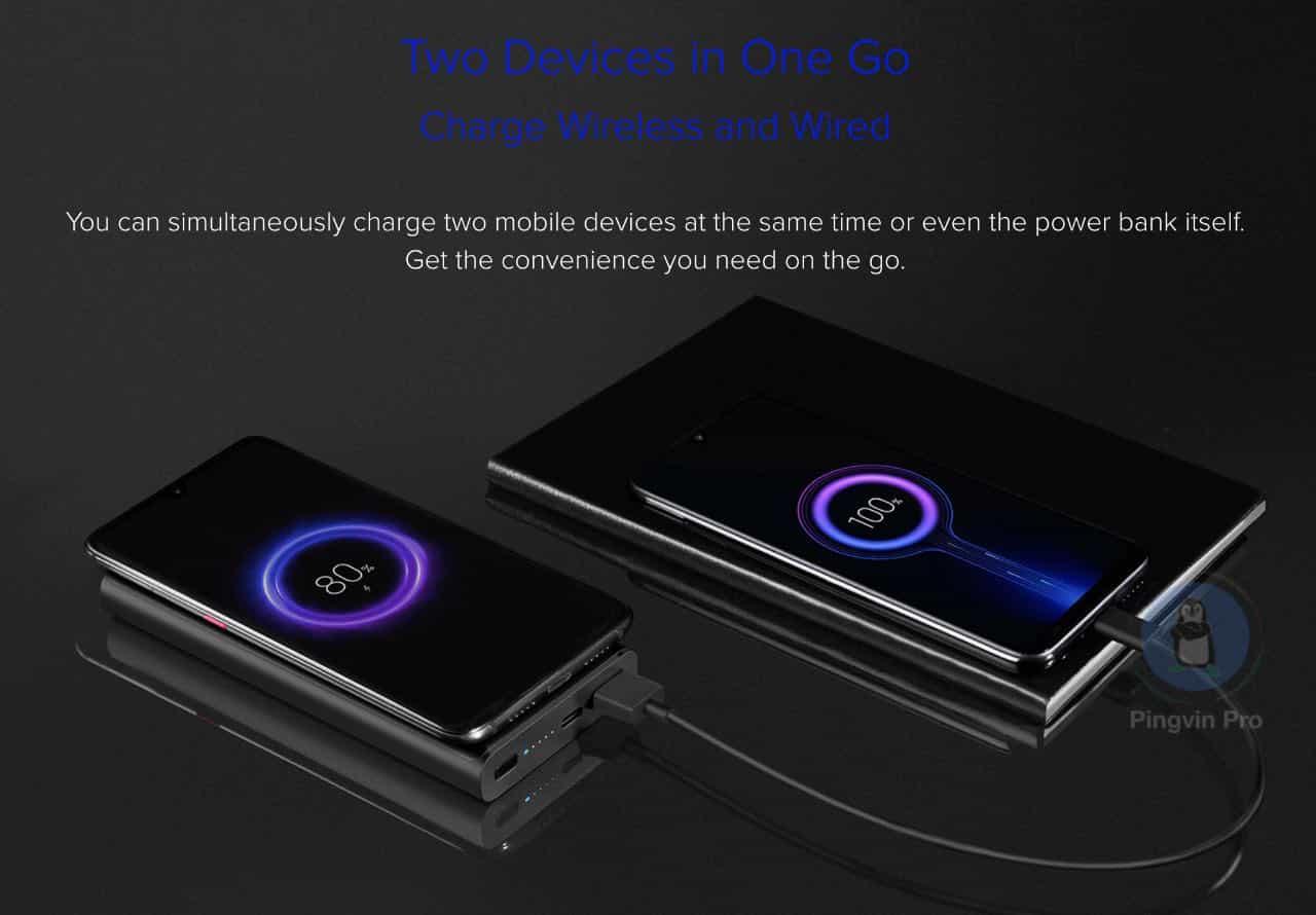 Xiaomi Mi Wireless Power Bank 10000