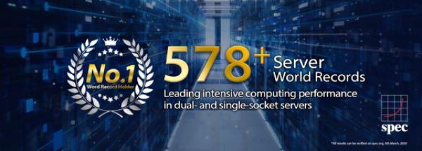 Серверні процесори ASUS встановили 578 світових рекордів продуктивності
