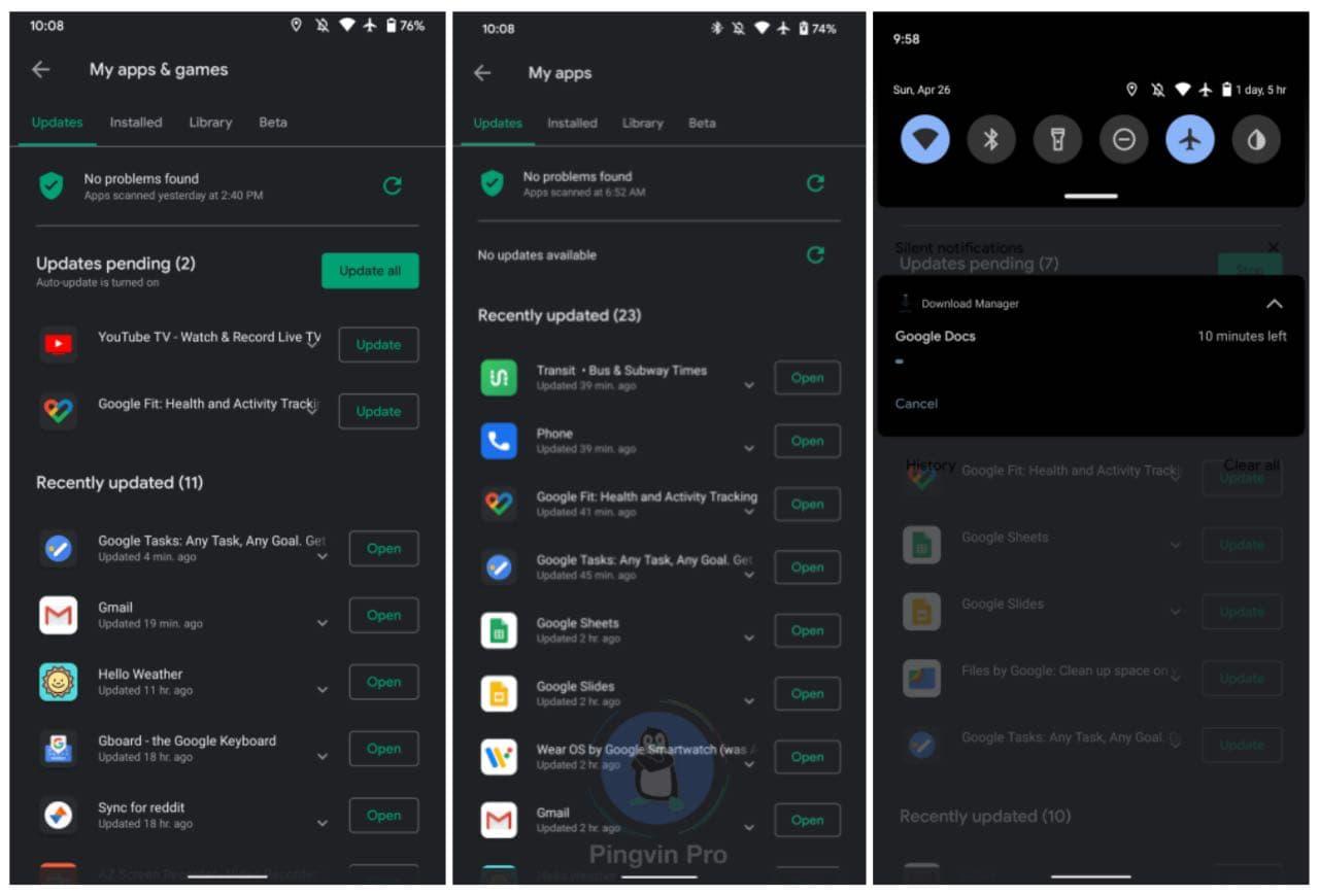 Помилка в Google Play призводить до повторного оновлення додатків