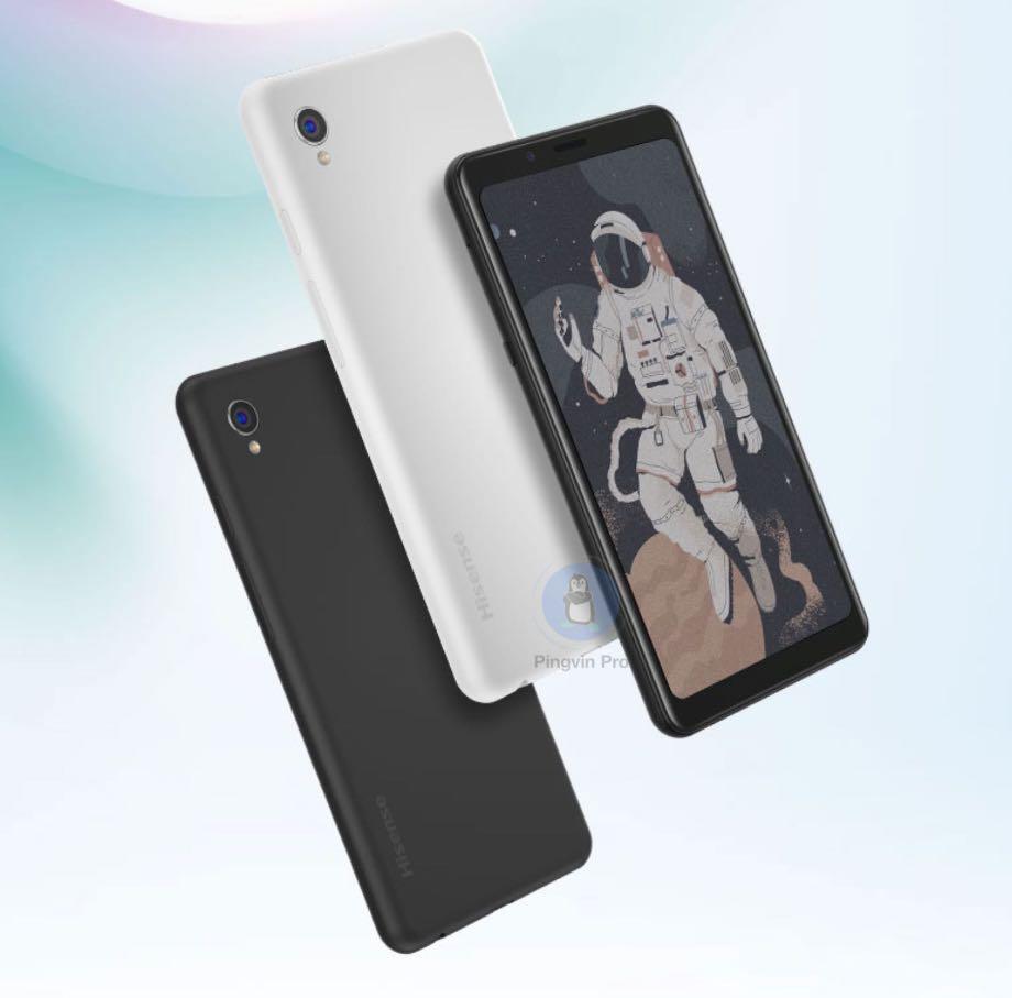 Hisense A5C: перший у світі смартфон з кольоровим E Ink екраном