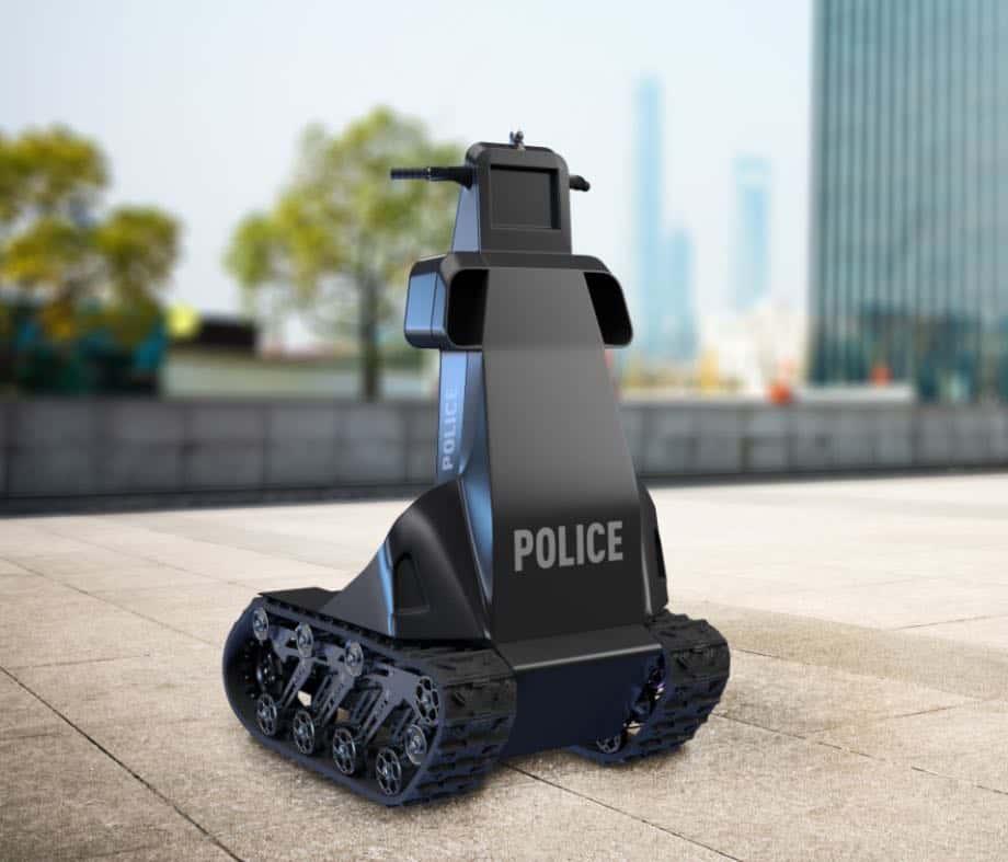 В Запоріжжі створили першого робота-поліцейського
