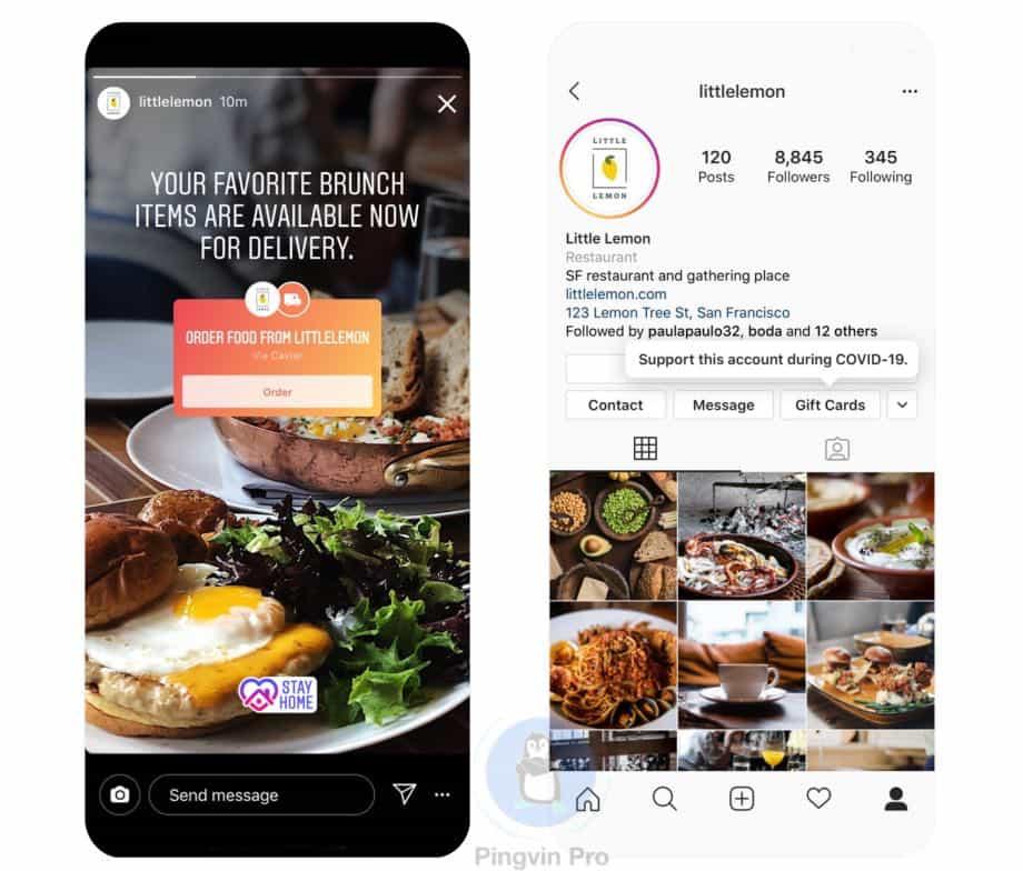 Instagram запустив нові наліпки