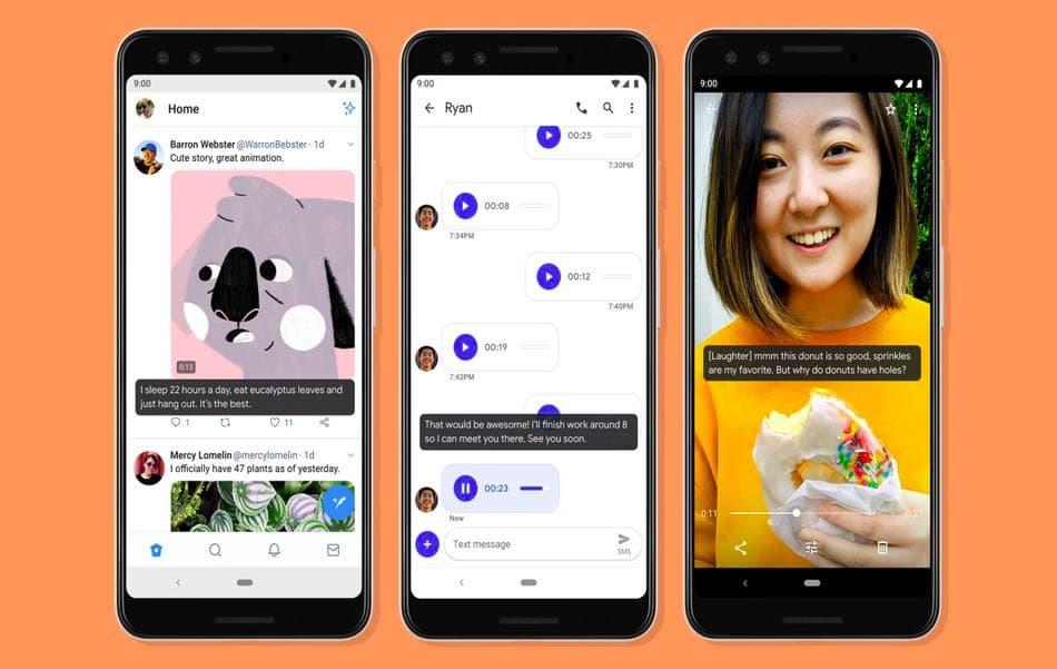 Google застосує функцію «живі титри» (Live Caption) для телефонних дзвінків