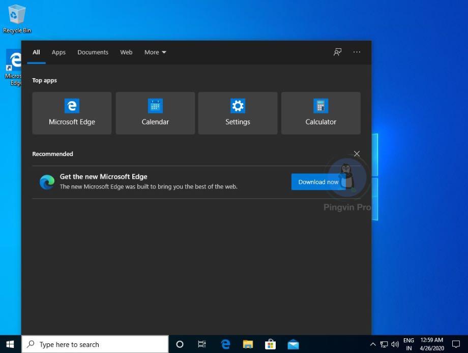 Microsoft наполягає на використанні Edge у Windows 10