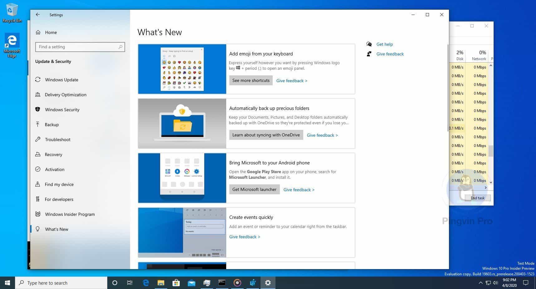 Microsoft додасть розділ «Що нового» в налаштування Windows 10