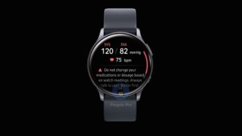Samsung Galaxy Watch Active2 тиск