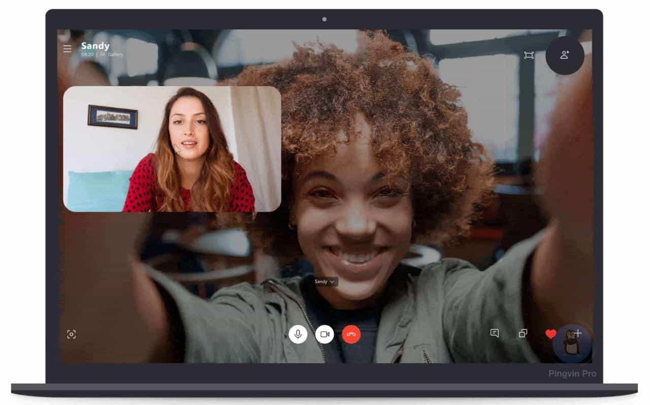 Skype 8.59 отримав можливість зміни фону