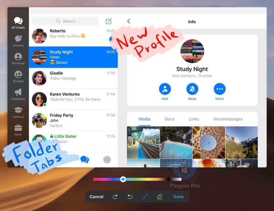 Telegram отримав оновлені вікторини, анімований дартс та покращення для Android і macOS