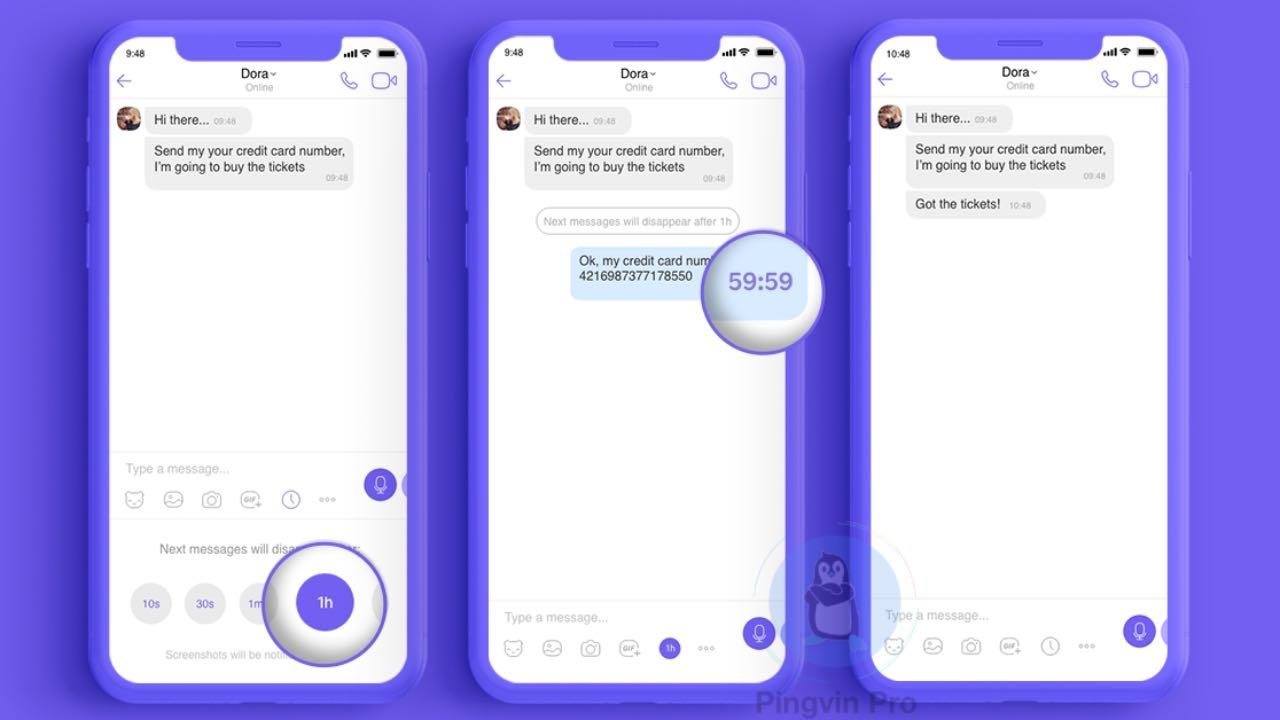 Viber підвищить конфіденційність у звичайних чатах
