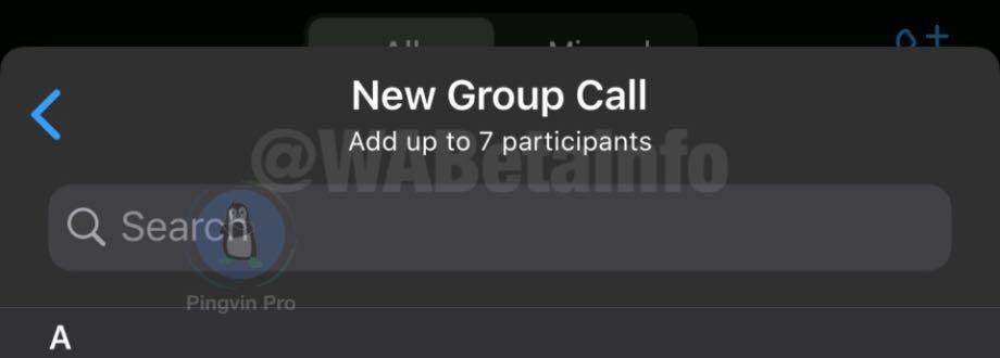 WhatsApp для Android групові дзвінки до 8 осіб