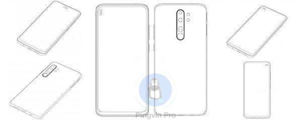 Xiaomi запатентувала нові дизайни для доступних смартфонів