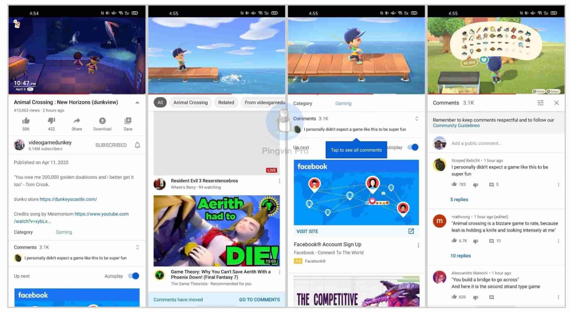 YouTube для Android отримав зміни у розділі коментарів