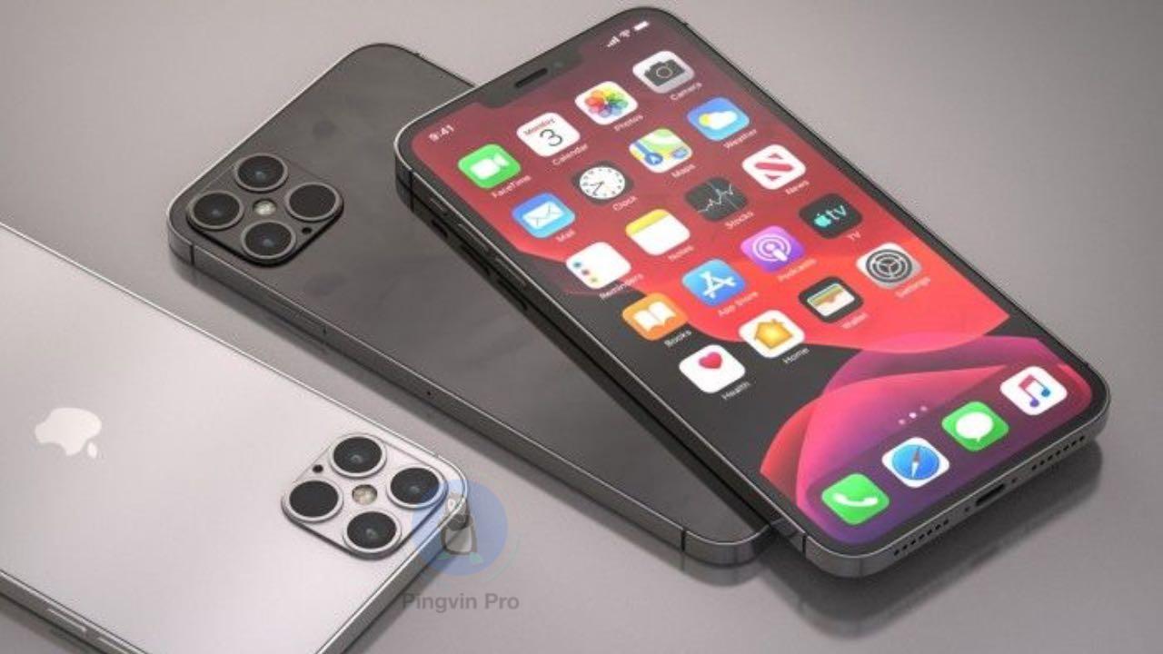 Apple iPhone 12 та iPhone 12 Pro рендер