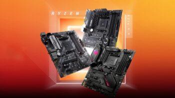 Материнські плати на базі чипсета AMD B550