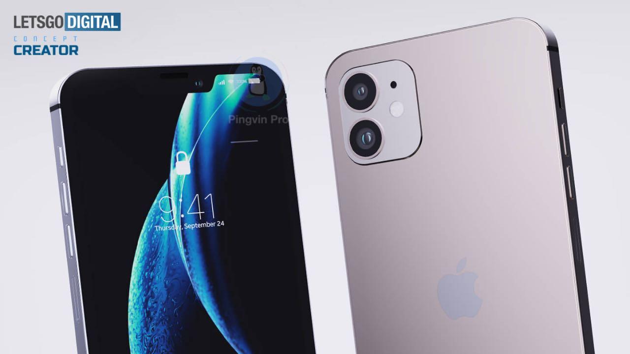 Apple iPhone 12 з 5.4'' OLED-дисплеєм на рендерах