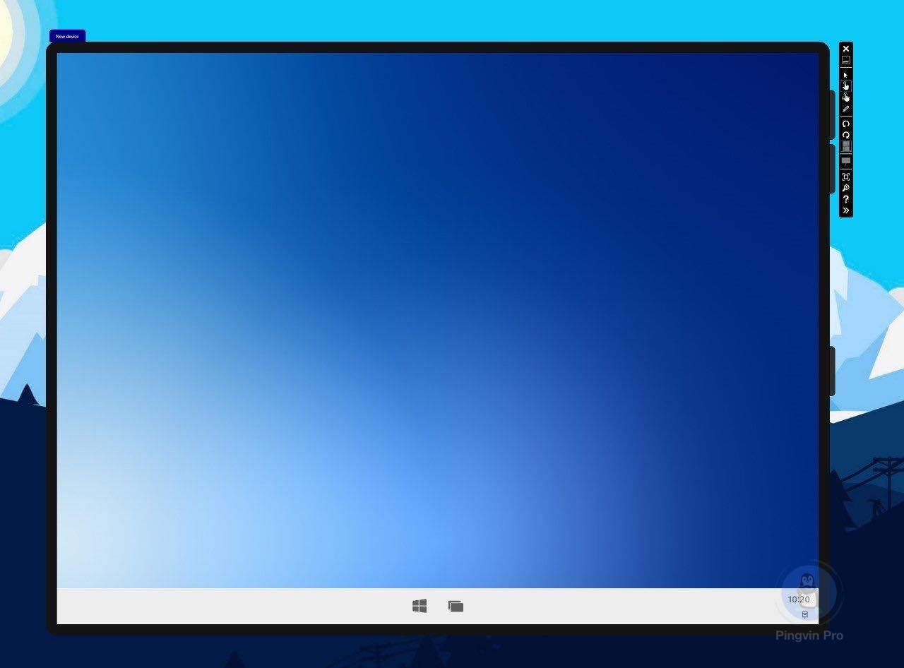 Windows 10X тестують на одноекранних пристроях