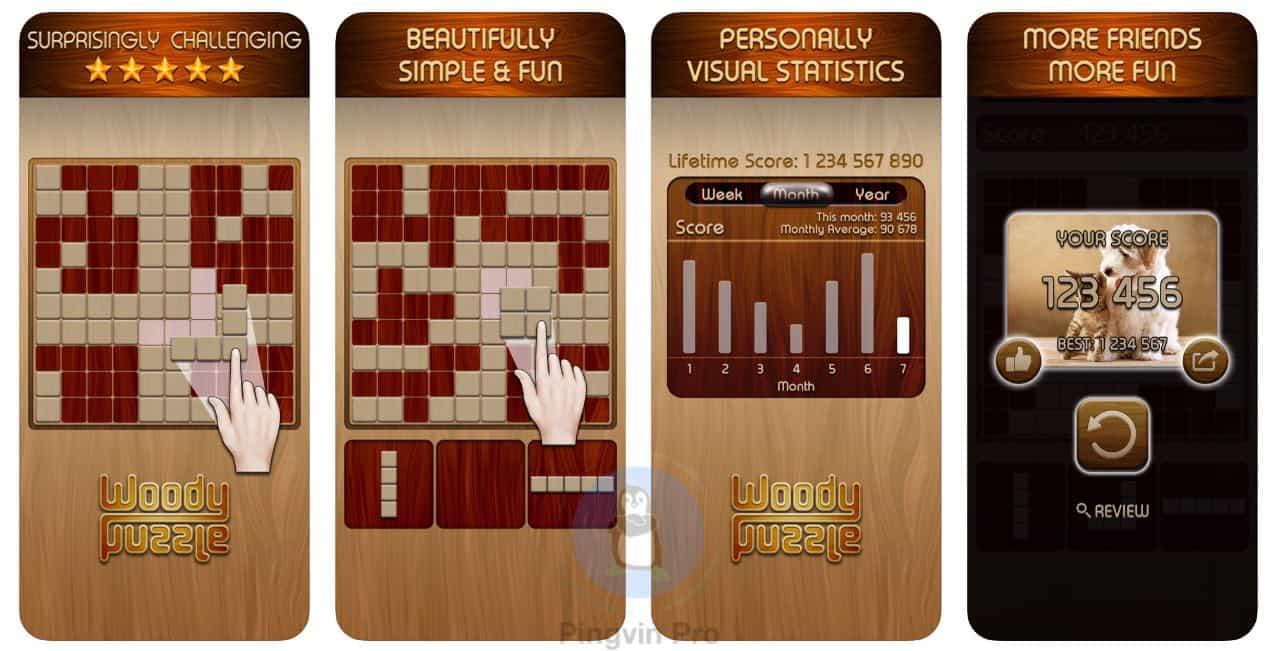 Woody – PingvinProTech: головоломки для Android та iOS