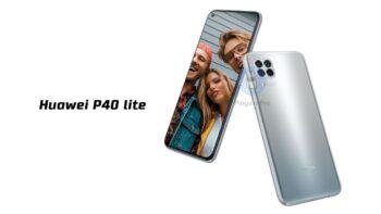 Huawei P40 lite grey