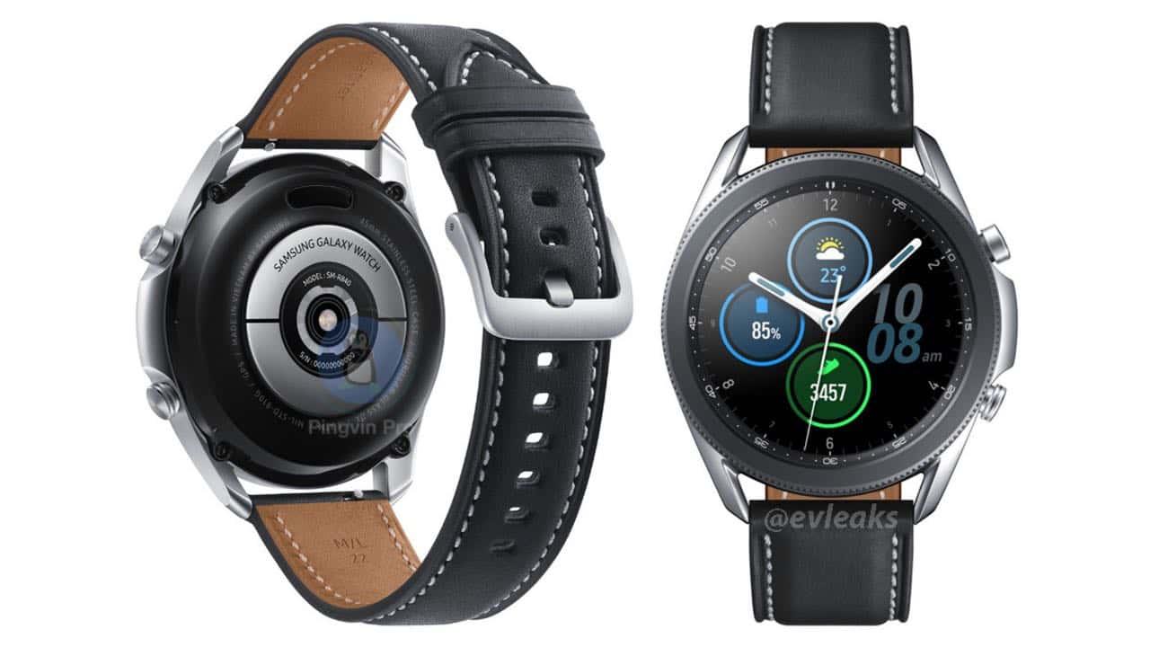 Samsung Galaxy Watch 3 45 мм рендер