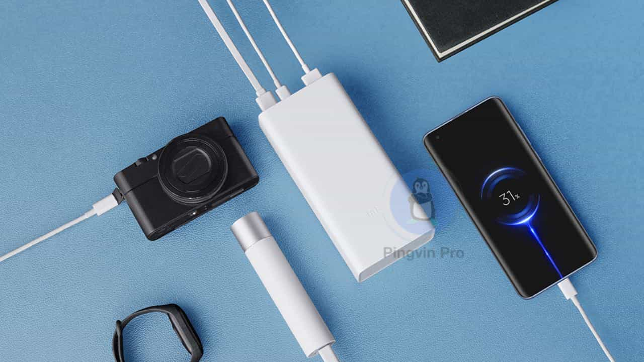 Xiaomi Power Bank 3 30000 мАг Quick Charge Edition