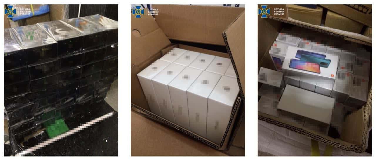 В Україну намагалися незаконно ввезти техніку Apple та Xiaomi на суму понад 100 млн грн