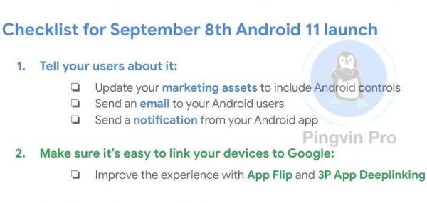 Google розкрила дату випуску стабільної версії Android 11