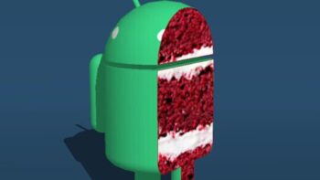 Android-смартфонів / Android 11 R Red Velvet Cake