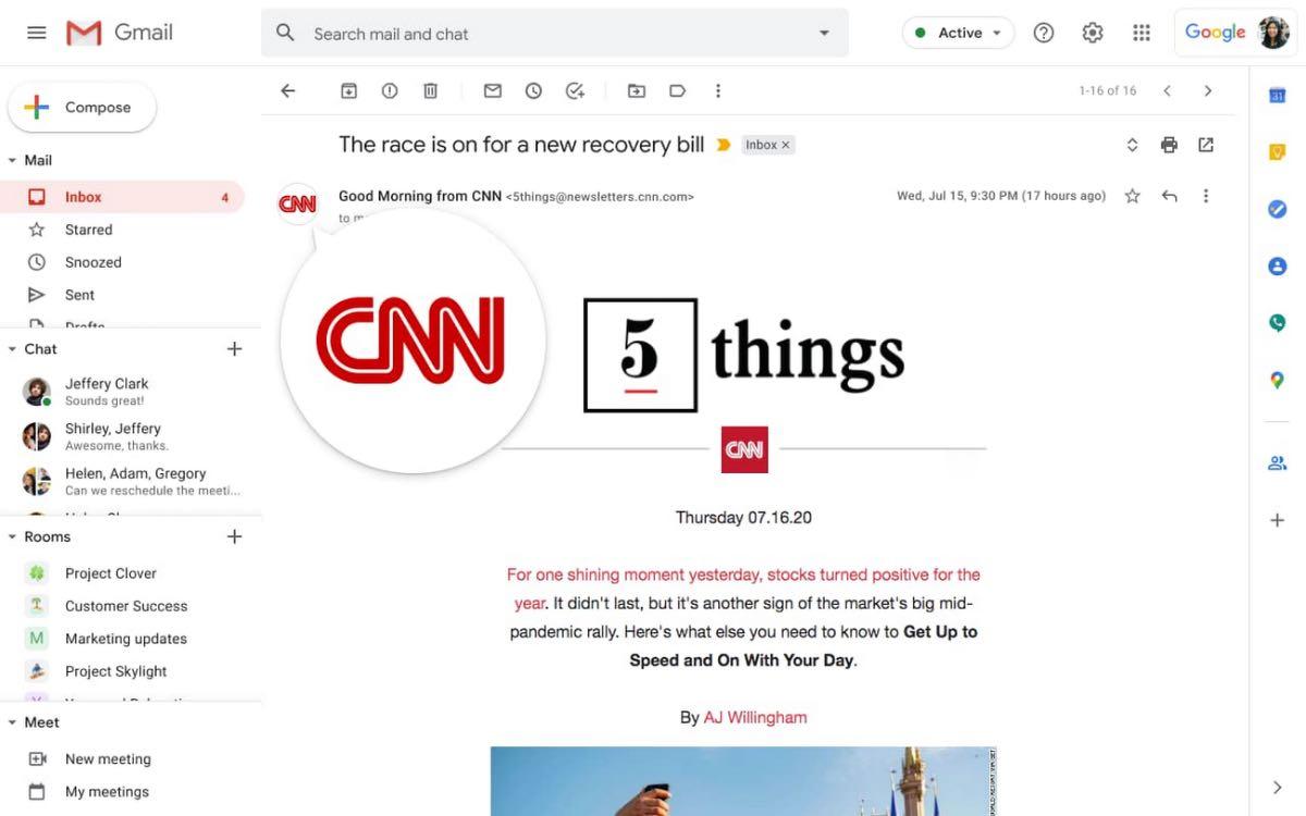 G Suite - Gmail
