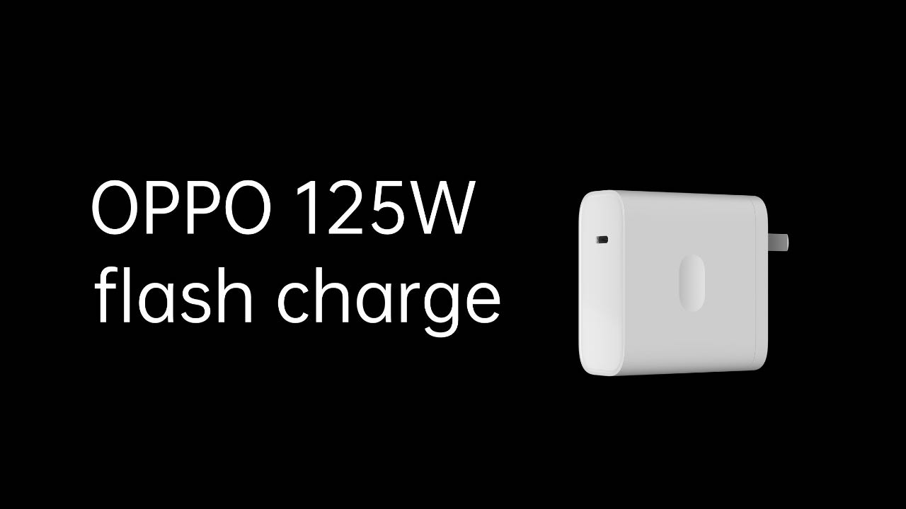 OPPO 125 Вт Flash Charge