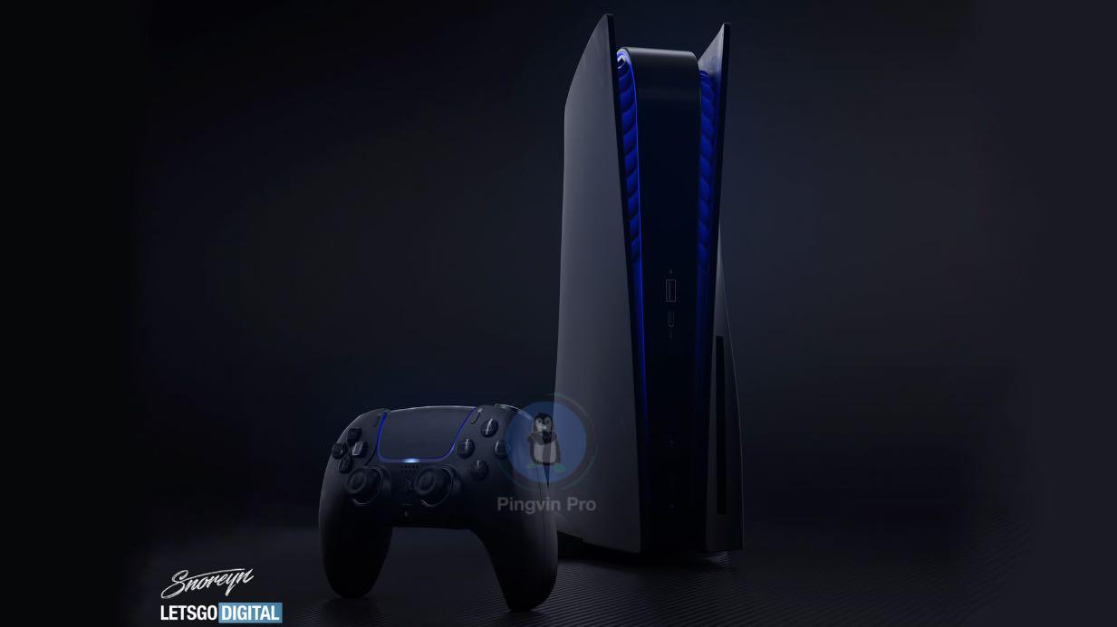 Sony PlayStation 5 показали у чорному дизайні