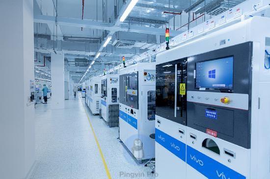 Новий розумний завод vivo виготовлятиме понад 70 млн одиниць пристроїв на рік