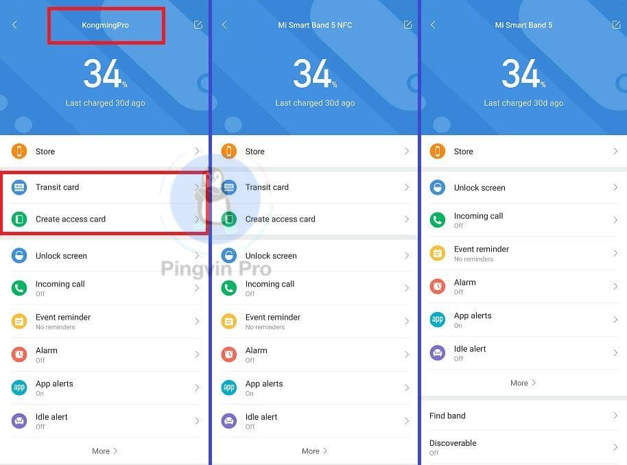 Xiaomi Mi Band 5 Pro у Mi Fit