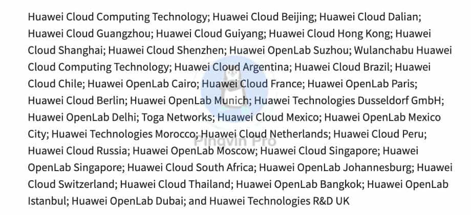У чорний список США потрапили 38 компаній, які допомогли Huawei обійти санкції