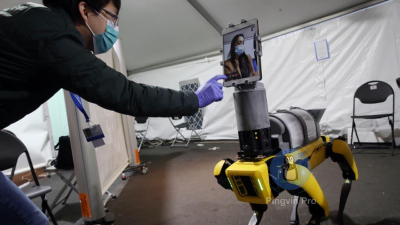 Boston Dynamics модернізувала робота Spot для допомоги хворим на коронавірус